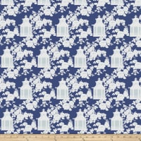 Tanya Whelan Gazebo Toile Blue