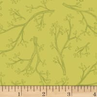 Spring Robins Branches Olive