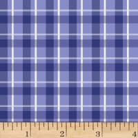 Jetset Europe Plaid Periwinkle