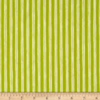 Nautical Fish Stripes Olive