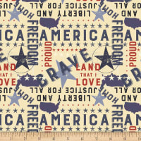 Land That I Love Americana Multi Color