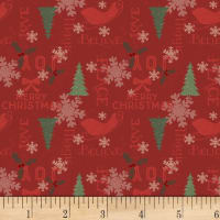 Home For Christmas Holiday Sayings Dark Red