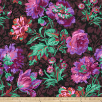 Kaffe Fassett Collective Baroque Floral Black