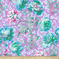 Kaffe Fassett Collective Baroque Floral Lavender