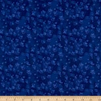 Open Sky Paw Prints Royal Blue