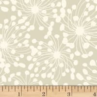 Birds and Blooms Abstract Light Taupe