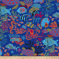 Kaffee Fassett Collective Scuba Blue