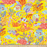 Kaffee Fassett Collective Scuba Yellow