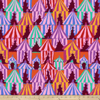 Kaffee Fassett Collective Glamping Red