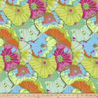 Kaffe Fassett Collective Lotus Leaf Lime