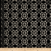 Telio Marakesh Corded Lace Black