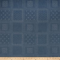 Telio Bandana Chambray Print Light Blue