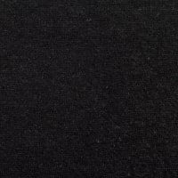 Telio Eco Organic Cotton Hemp Fleece Stretch Black