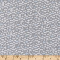 Les Enfantes Flannel Clouds Blue