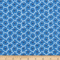 Temperance Blues Foulard Blue