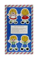 "Holly's Dollies 24"" Panel Doll Multi"