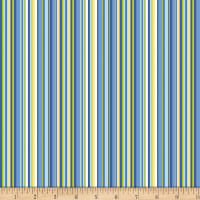 Contempo Front Porch Summer Stripe Blue