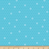Contempo Front Porch Honeycomb Teal