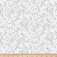 Kanvas I Thee Wed Wedding Scroll White Metallic
