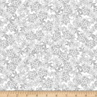 Kanvas I Thee Wed French Lace White Metallic