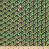 Contempo Printology Scallops Green