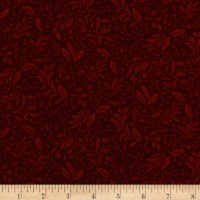Autumn Leaves Garden Vine Dark Red