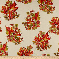 Autumn Leaves Spray Metallic Cream