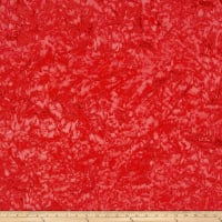 Lava Solids Batik Poppy
