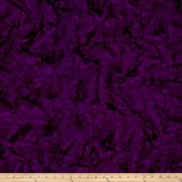 Anthology Batiks Lava Solid Eggplant