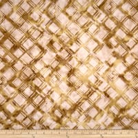 Anthology Batiks Criss-Cross Plaid Honey