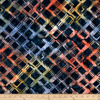 Anthology Batiks Criss-Cross Plaid Prism