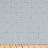 Stof Fabrics Denmark Lavender Story Dot Grid Light Blue