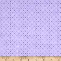 Stof Lavender Story Dot Grid Lilac