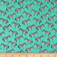 Little Explorers Small Zebras Aqua
