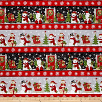 Winter Greetings Stripe Multi