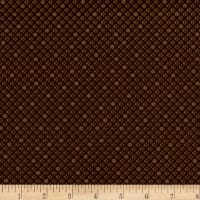 Basically Hugs Cross Stitch Dk. Brown