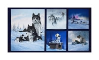 "Collection Of Alaska's Artist Jon Van Zyle Siberia 24"" Panel Blue"
