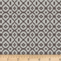 Stof Boho Graphics Light Grey
