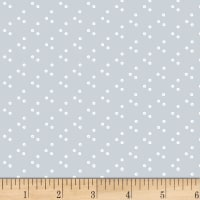 Stof Dot Mania Cluster Circles Light Grey
