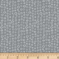 Stof Dot Mania Small Circles Dark Grey