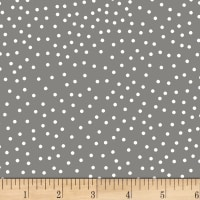Stof Dot Mania Medium Grey