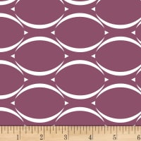 Stof Duo Waves Medium Plum