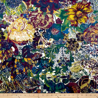 Liberty Fabrics Interiors Velvet May Myriad