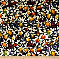 Liberty Fabrics Interiors Velvet Fruit Billet Forest Fruits