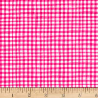 Michael Miller Gingham Play Gingham Play Magenta