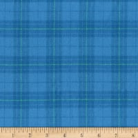 Marcus Primo Plaids Flannel Color Crush II Blue