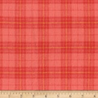 Marcus Primo Plaids Flannel Color Crush II Peach