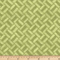 Michael Miller Laura Gunn Project Dovetail Mini Grid Moss