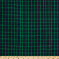 Classic Yarn-Dyed Tartan Plaid Blackwatch Blue/Green