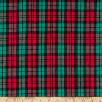 Classic Yarn-dyed Tartan Large Plaid Red/Green/Black